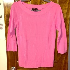 Bubble Gum Pink New York & Company Sweater